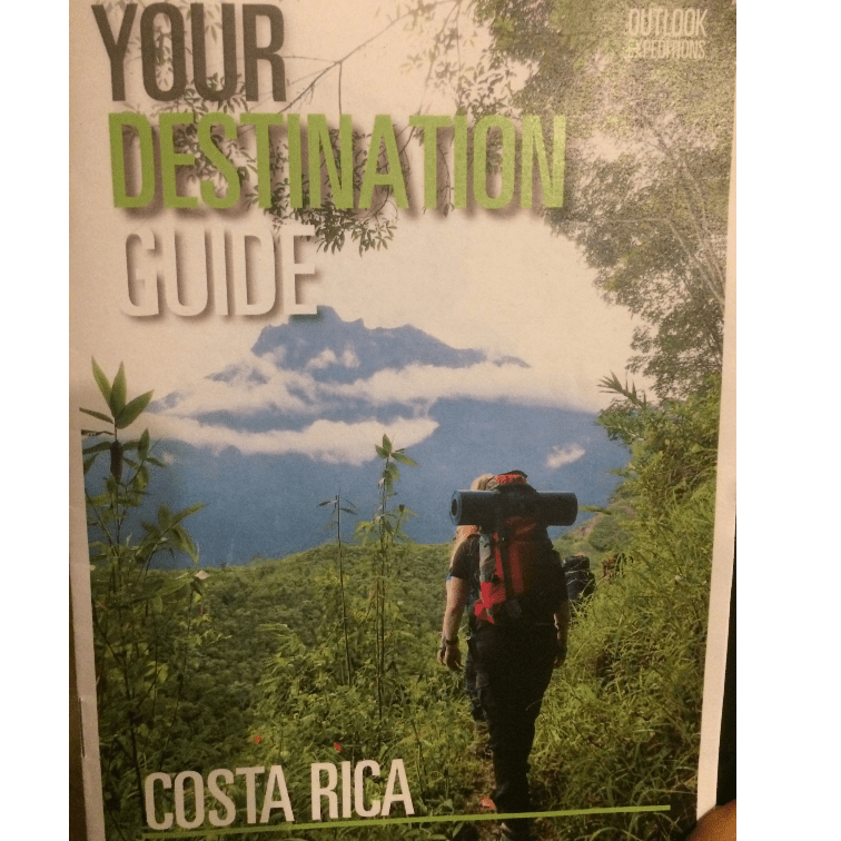 Outlook Expeditions Costa Rica 2021 - Iona Duffy