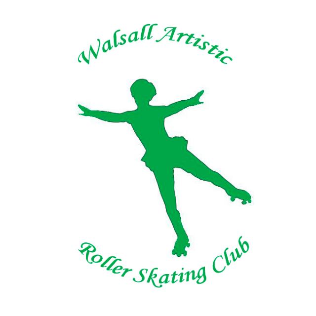 Walsall Artistic Roller Skating Club cause logo