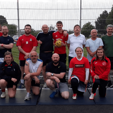 Sizewell Seniors Walking Football Club