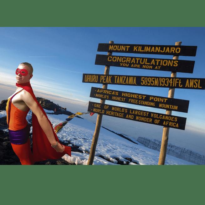 Alfie Martin-Parsons  Kilimanjaro for MIND