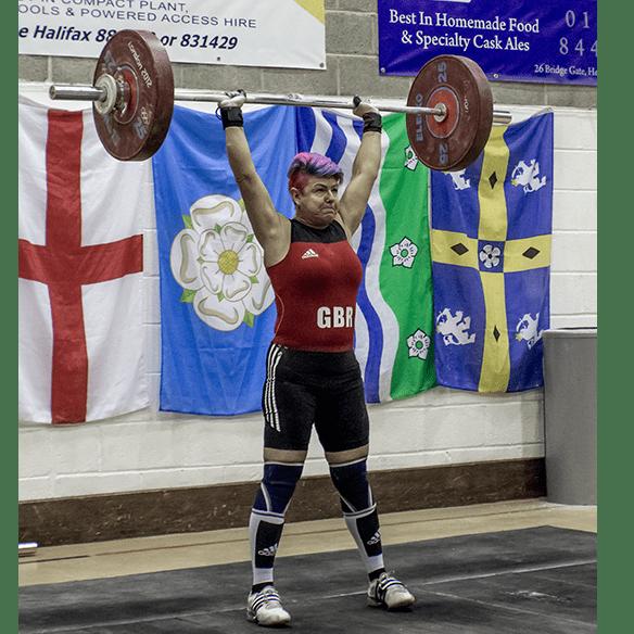 Justine Davis bid to be European and World Champion weightlifter