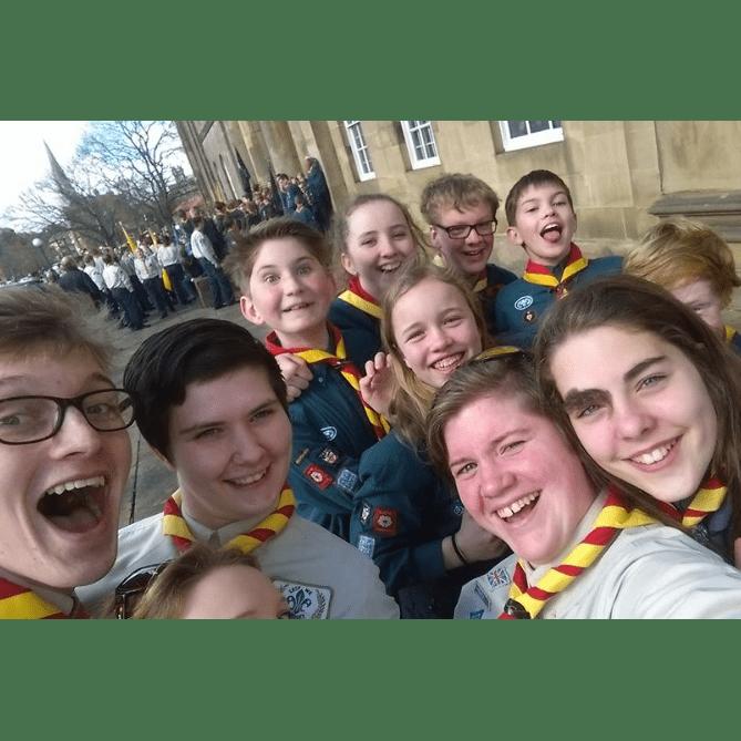 Christchurch, York Minster Scouts