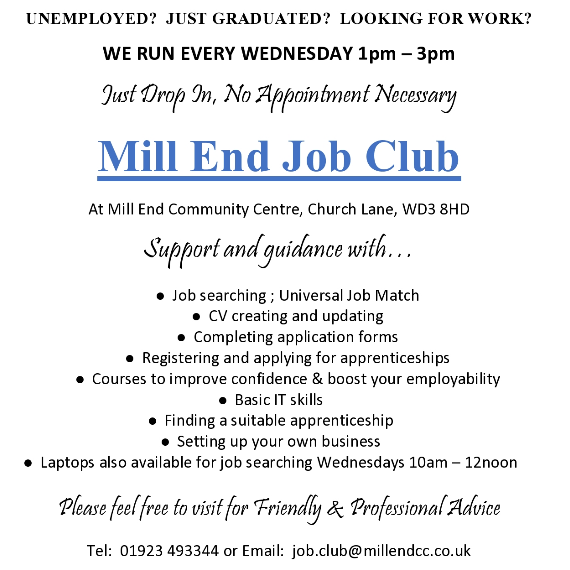 Mill End & District Community Assoc