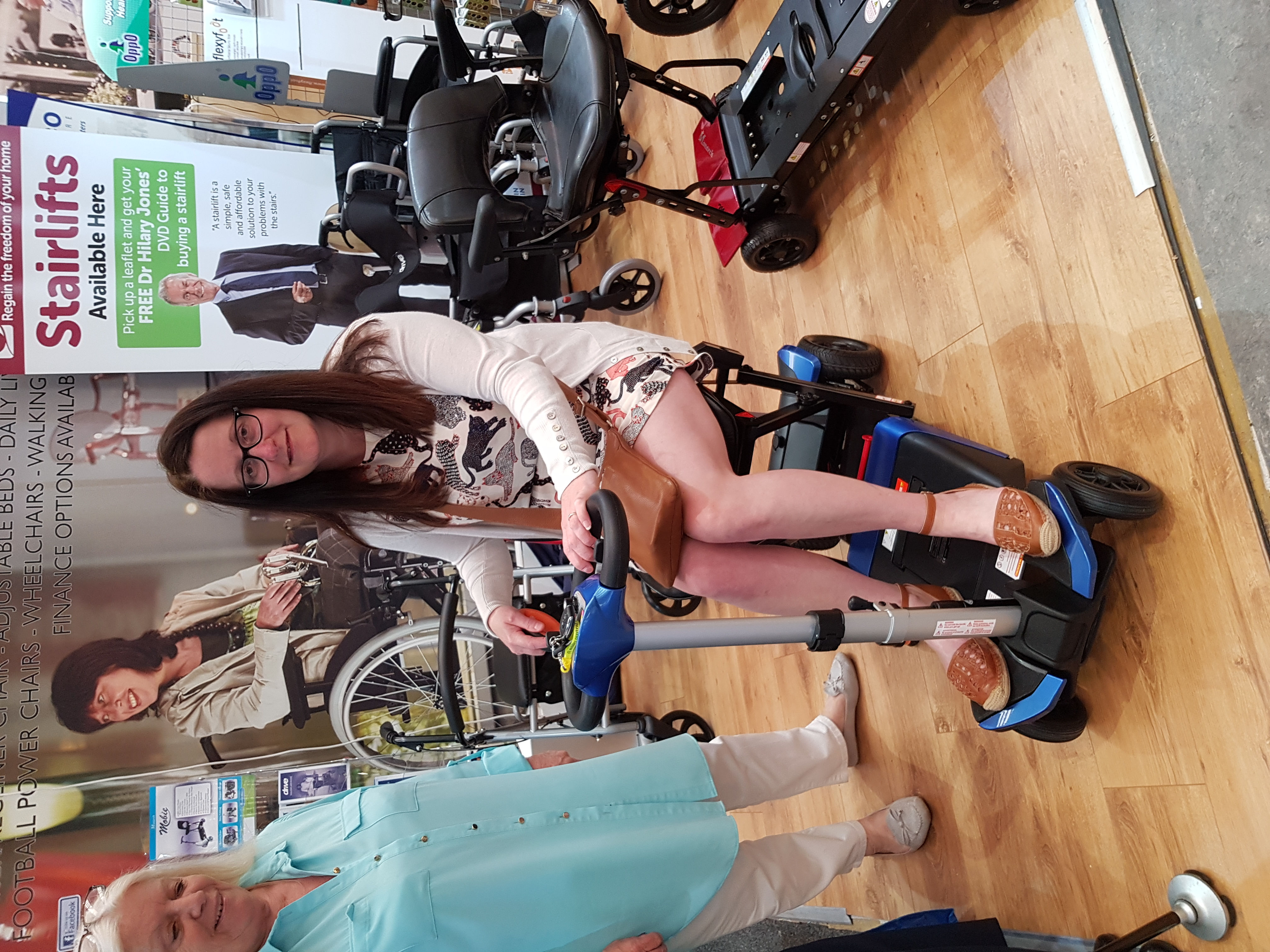 Raising For A Mobility Scooter - Sarah Watterson