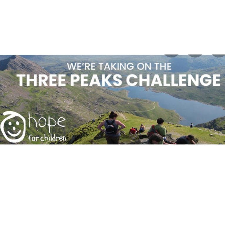 Hope for Children 3 Peaks Challenge - Lydia Sheppard