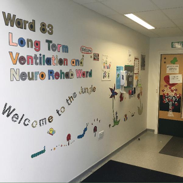 Ward 83 Royal Manchester Children's Hospital