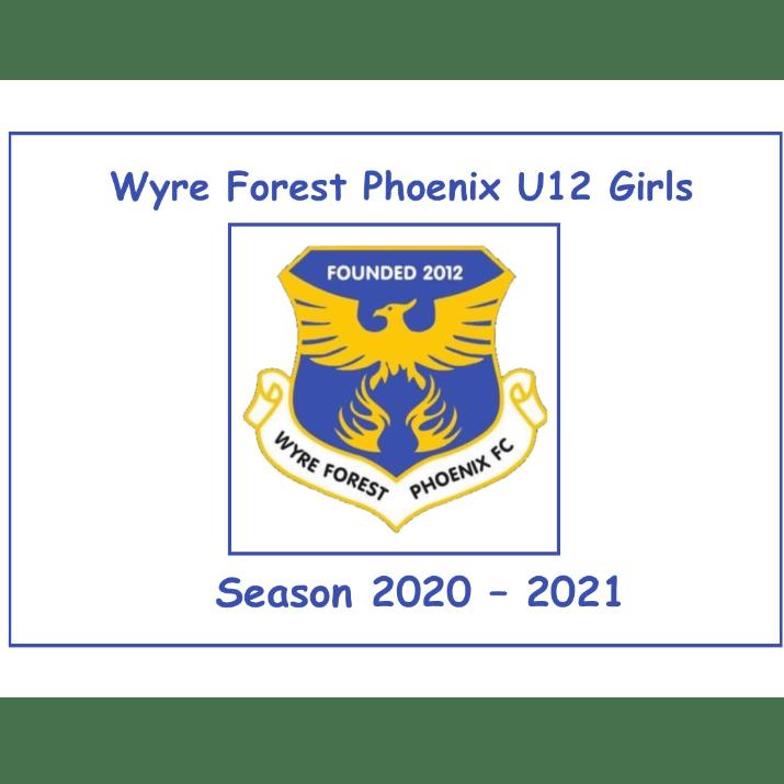 Wyre Forest Phoenix U12 Girls, Season 20/21