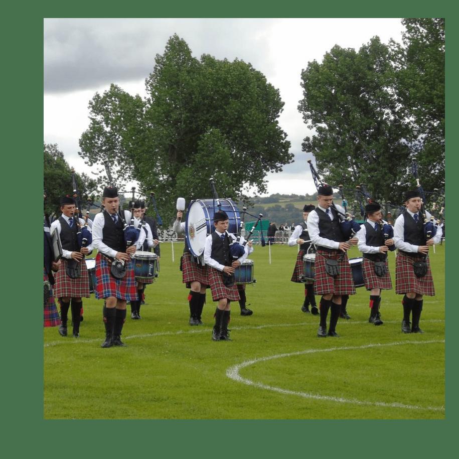 Scottish Fire and Rescue Service Novice Juvenile Pipe Band