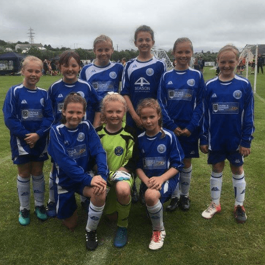 Helston Hammerheads girls team - U12