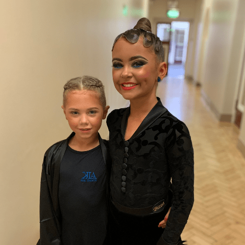 Formation dance British titles - Ava & Amelia Williams
