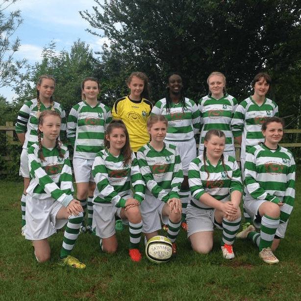 Santiago Siren's Girls Football Team