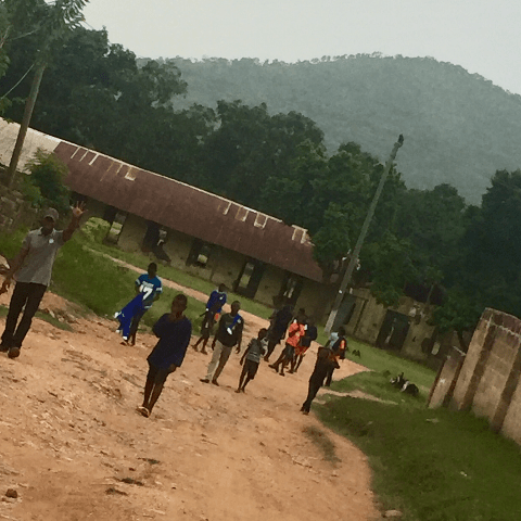 Newfield School Ghana expedition 2019 with Venture Force