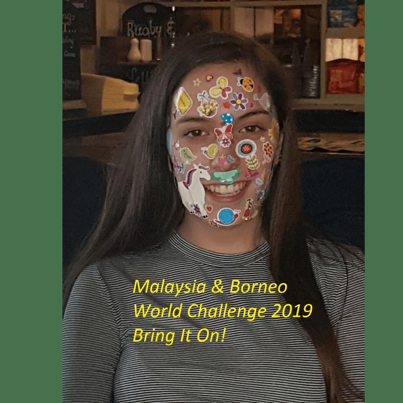 World Challenge Malaysia and Borneo 2019 - Robyn Warrick-Clarke