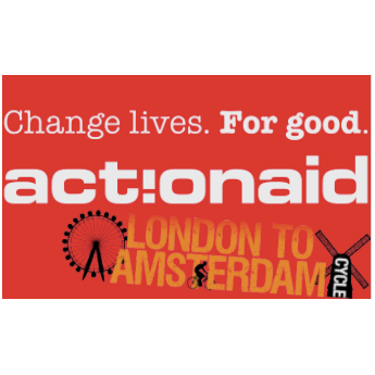 Cycle London to Amsterdam 2018 for Action Aid - Sarah Slater
