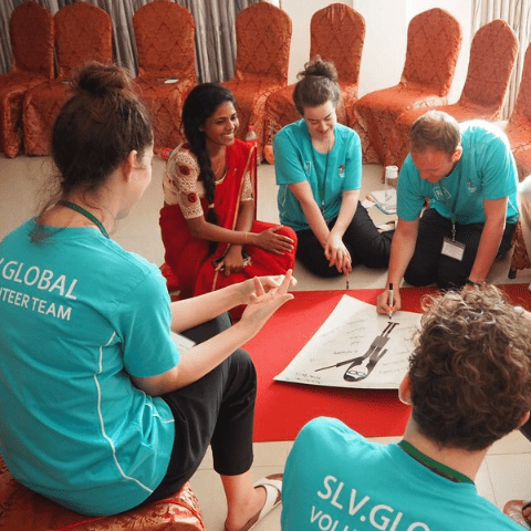 Slv Global Sri Lanka 2019 - Hannah sankey  cause logo