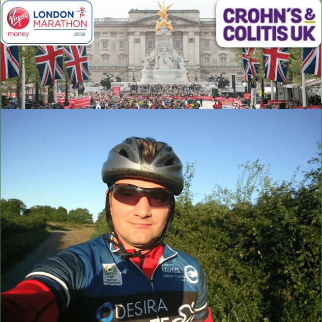 London Marathon Crohn's & Colitis UK 2018 - Jon Gray