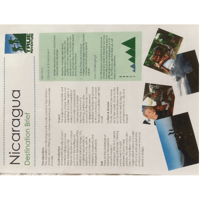 True Adventure Nicaragua 2019 - Lily Dove