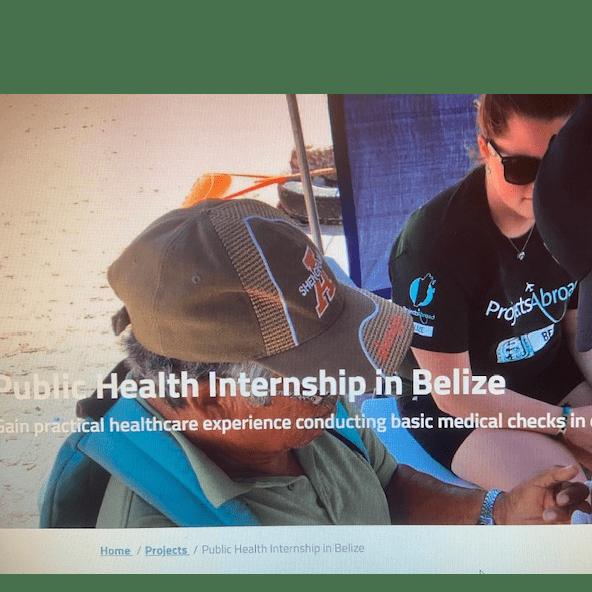 Projects Abroad Belize 2021 - Sam Billington