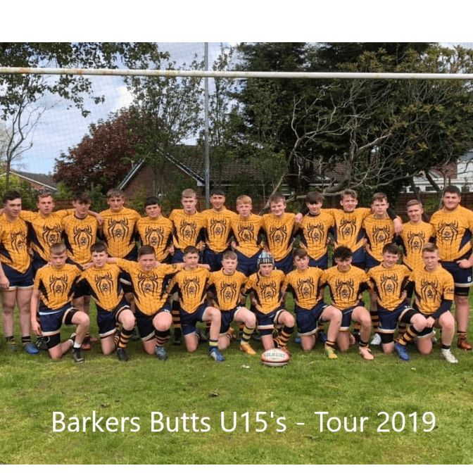 Barkers Butts U16's Tour 2020