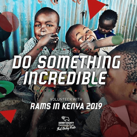 Derby County Community Trust Kenya 2019 - Rebecca Cranham