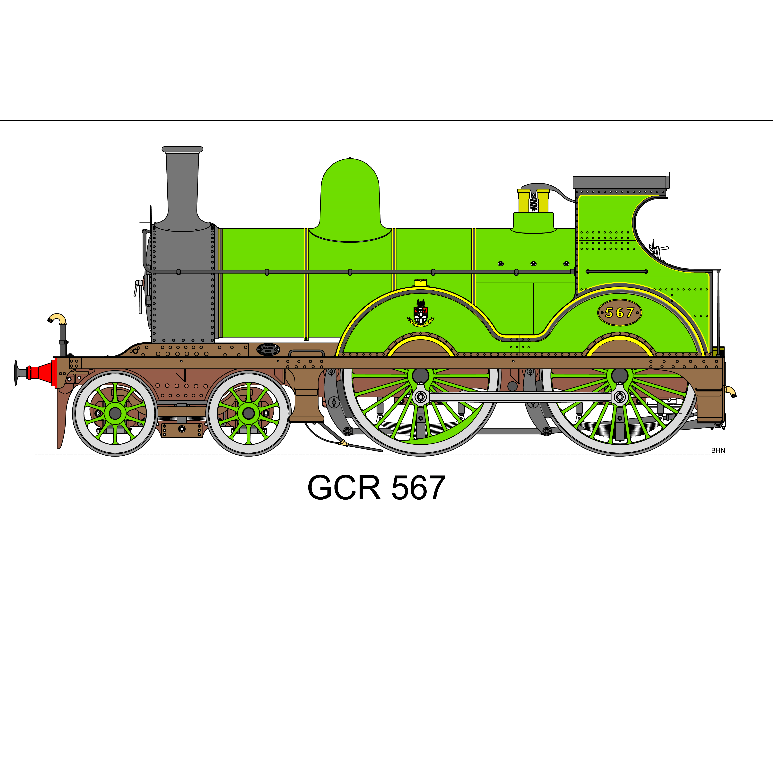The GCR 567 Locomotive Group