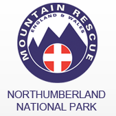 Northumberland National Park Mountain Rescue Team cause logo