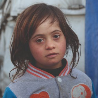 Osama Akrama fundraising for children with Down Syndrome in Syria