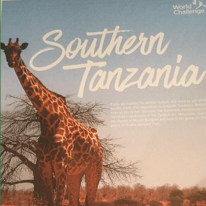 World Challenge Tanzania 2019 - William Gennoe