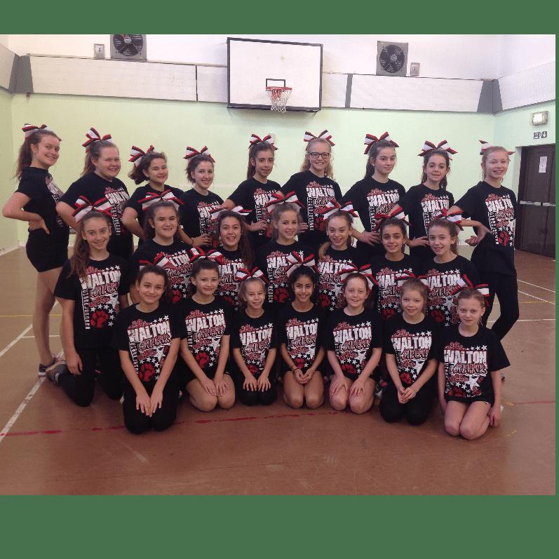 Walton Wildcats Cheerleaders