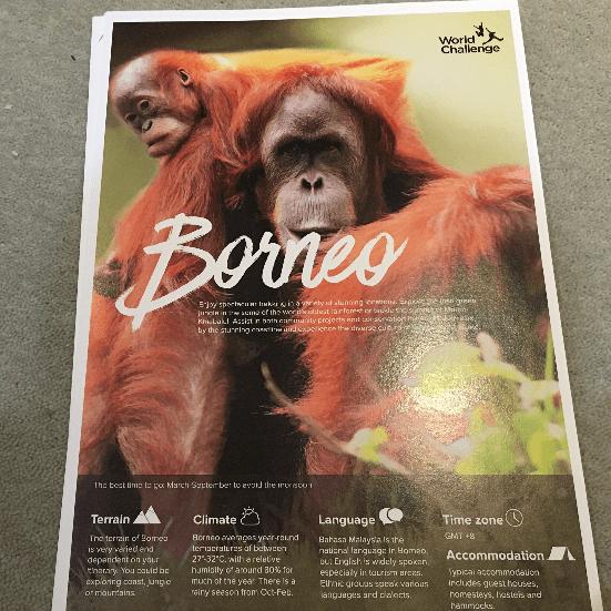 World Challenge Borneo 2020 - Ethan Harrison