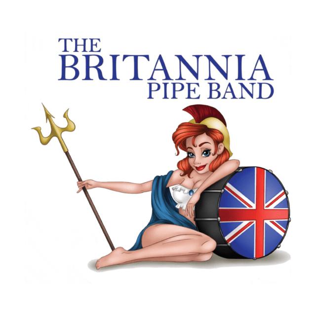The Britannia Pipe Band