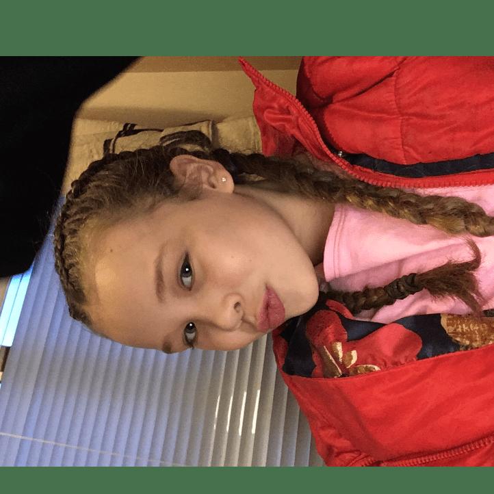 Cora Mclaughlin raising for The Princess Trust