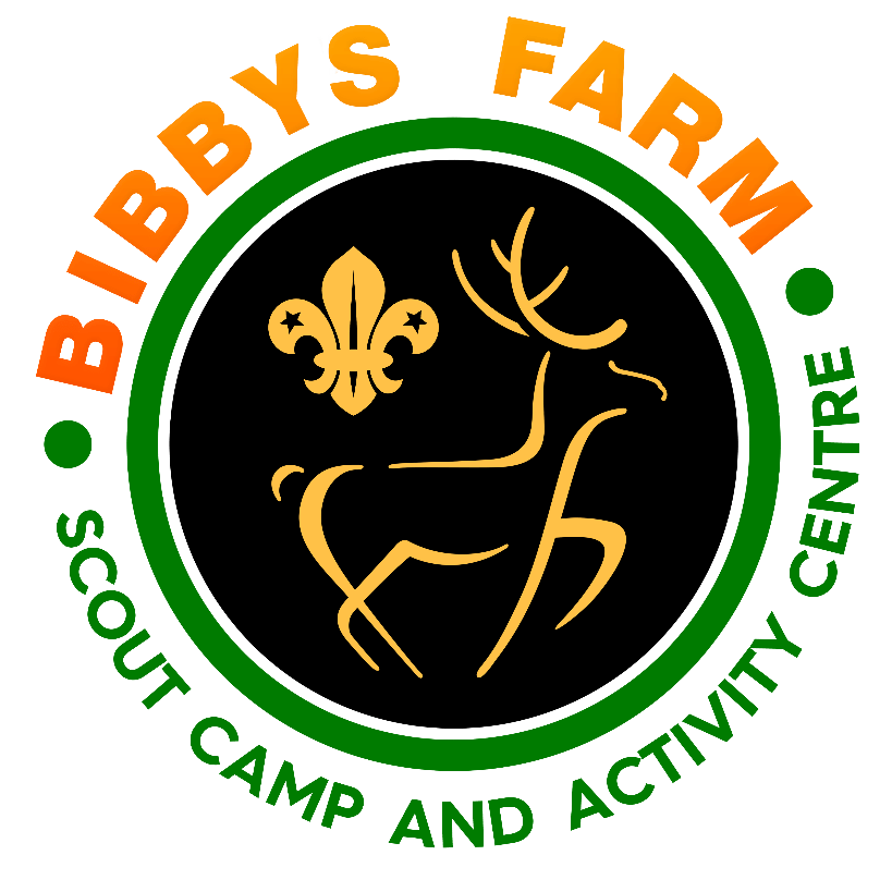 Bibbys Farm Scout Camp Site cause logo