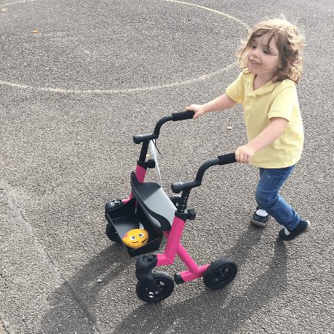 Just helping children - Daisy's Dream To Walk