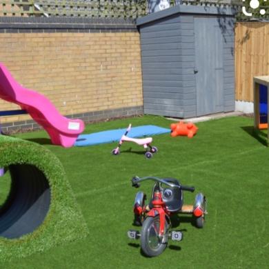Autistic Sensory Garden - Vicky Dicks