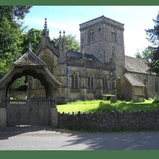 St Giles Church - Stanton St Quintin