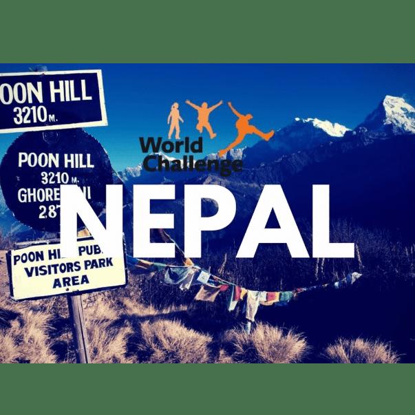 World Challenge Nepal 2020 - Finlay Stinson