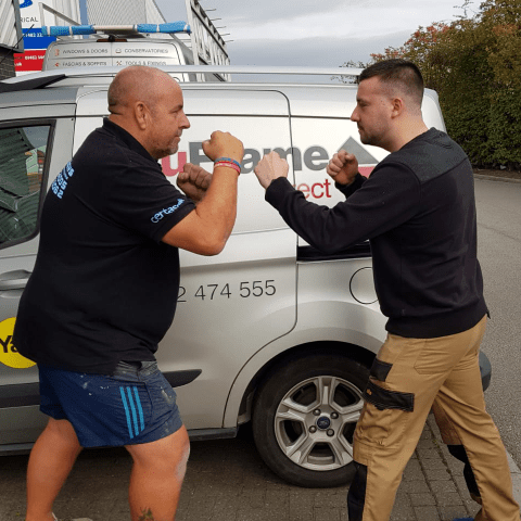 Charity Boxing Fight for Neonatal Unit Hull Royal - Andy Myers