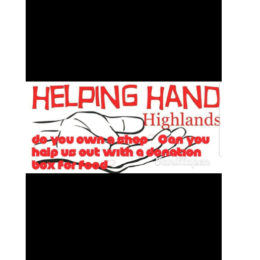 A Helping Hand in the Highlands - Fiona Hannah