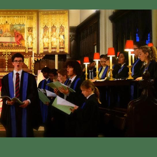 Chapel Choir of Chigwell School Charity CD Fundraising