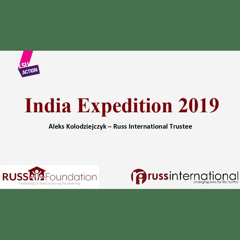 Russ Foundation Madurai India 2019 - Oscar Brook