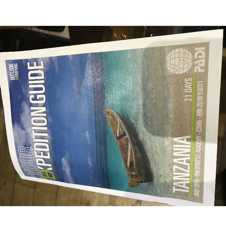 Outlook Expedition Tanzania 2019 - Chloe Murphy