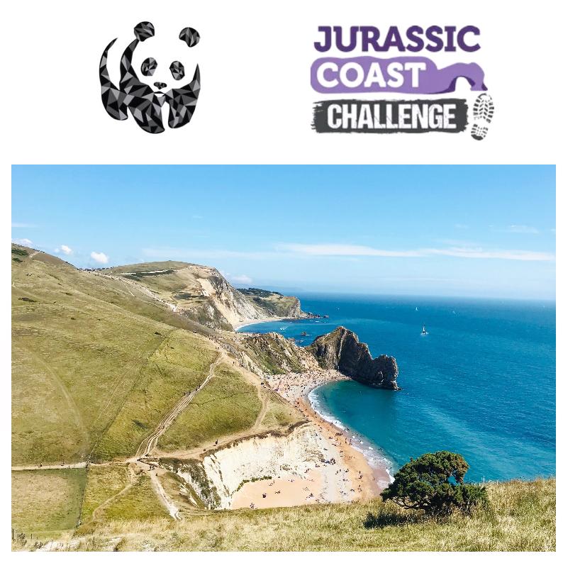 Walking Jurassic Coast for WWF - Mica Lam