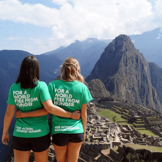 Action Against Hunger Machu Picchu 2020 - WIlliam Tucker