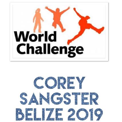 World Challenge Belize 2019 - Corey Sangster