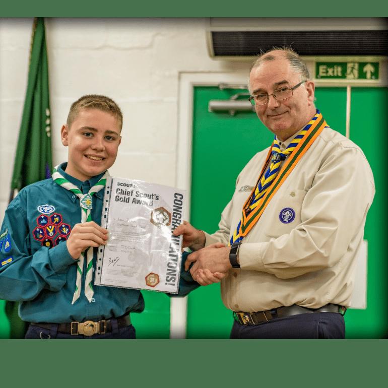 European Scout Jamboree Poland 2020 - Leon Hobson