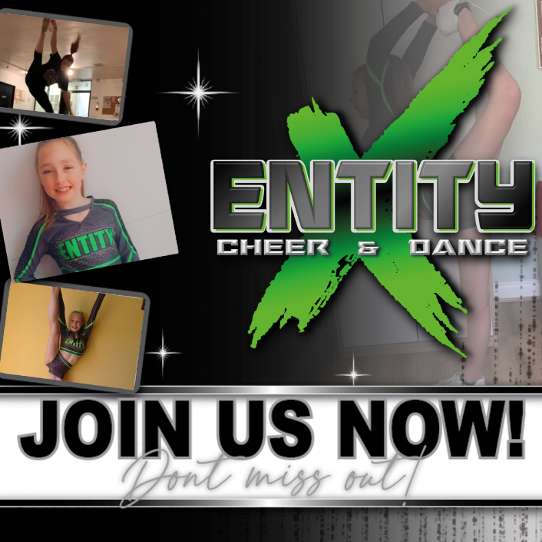 Entity X Cheer and Dance