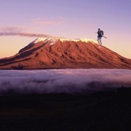 Kilimanjaro trek in aid of Meningitis Research Foundation 2020 - Amy Saunders