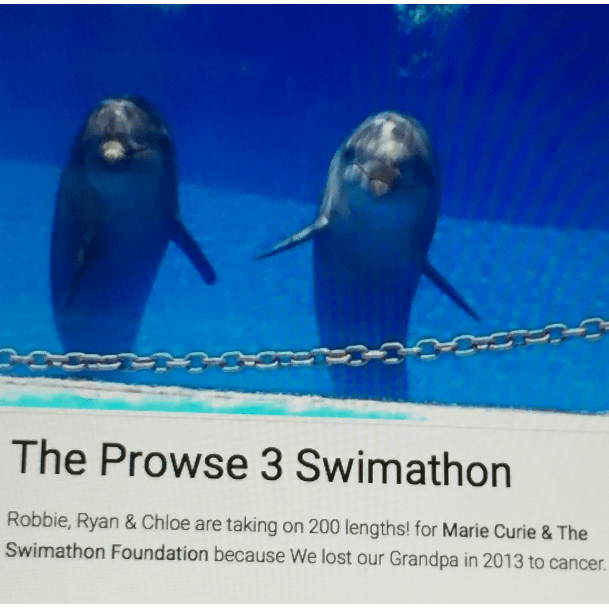Prowse Swimathon 2017 In Aid Of Marie Curie