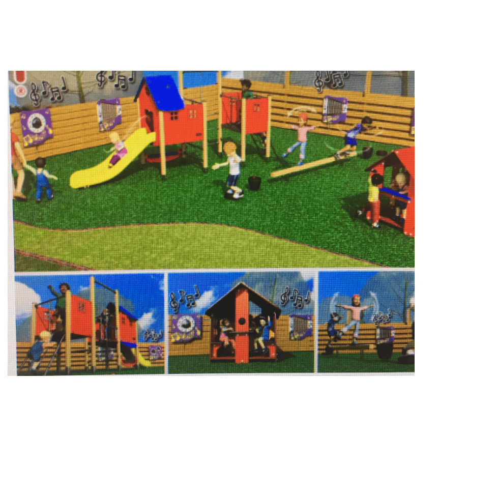New Playground Equipment for Early Years - Liberty Primary School Mitcham